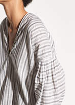 Variegated Stripe Long Sleeve Pullover