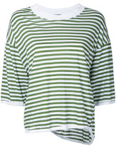 Bassike striped top - women - Cotton - L