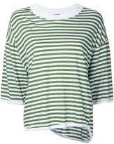 Bassike striped top - women - Cotton - S