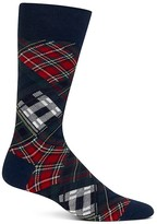 Polo Ralph Lauren Patchwork Plaid Trouser Socks