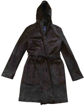 Max Mara Brown Suede Coats