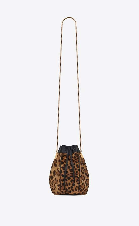 361ee0926 Leopard Bucket Purse - ShopStyle