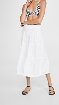Wilt Tiered Long Skirt