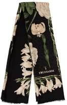 Trussardi Floral Printed Scarf