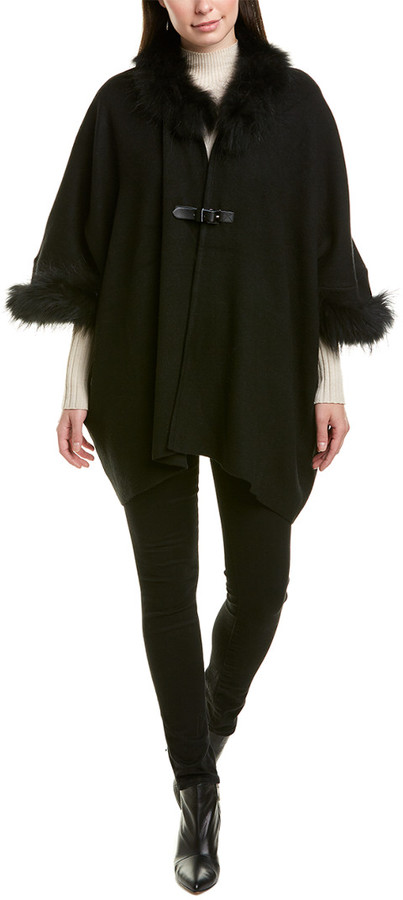 DOLCE CABO Fuzzy Poncho