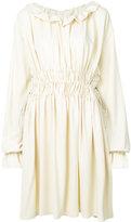 MM6 MAISON MARGIELA gathered waist dress
