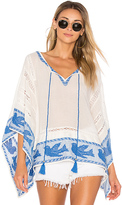 Star Mela Ani Embroidered Top in Ivory. - size M (also in S)