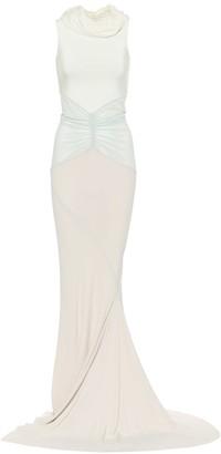 Rick Owens DUSTULATOR stretch-satin gown