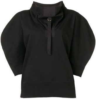 Bottega Veneta Oversized Short-Sleeve Sweater
