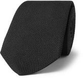 Alexander McQueen 7.5cm Knitted Silk Tie