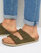 Birkenstocks Arizona Suede Sandals