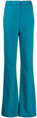 Hebe Studio Bianca flared trousers