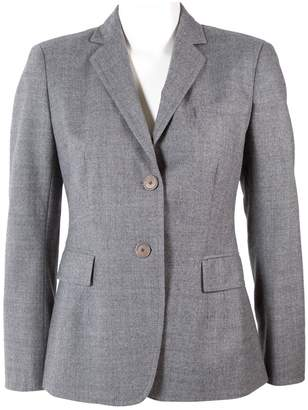 Akris Punto Grey Wool Jackets