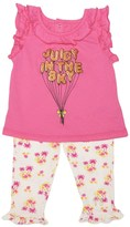 Juicy Couture Baby 2pc Top & Legging Set