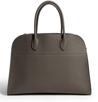 The Row Large Leather Margaux Doctor Bag