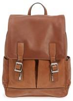 Frye Men's Oliver Leather Backpack - Brown