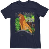 Simba Licensed Character Men's Disney Lion King Roar Distressed Tee