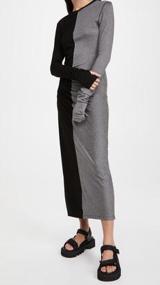 Ninety Percent Ruched Detail Midi Dress