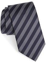 Ermenegildo Zegna Men's Stripe Silk Tie