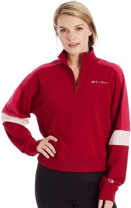 Champion Women's Campus Quarter-Zip Jacket