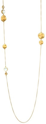 Dean Davidson 22K Goldplated & Mother-Of-Pearl Doublet Charm Long Necklace