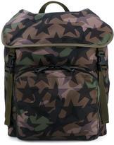 Valentino Garavani Valentino 'Camustars' backpack - men - Cotton/Leather/Nylon - One Size