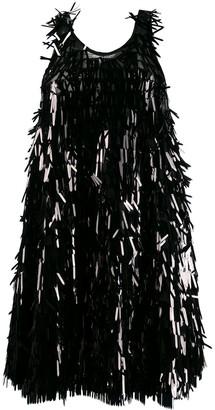 Norma Kamali Sequin Fringe Dress