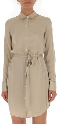 Theory Belted Shirt Dress