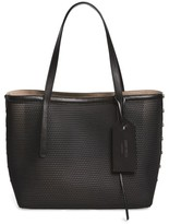 Jimmy Choo Twist East West Mesh Tote - Black