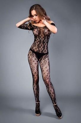 Le Frivole Women's 04517-sl Bodysuit Black (Negro 002) 10 (Size: S/L)