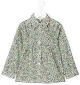 Cashmirino Micro-floral print shirt
