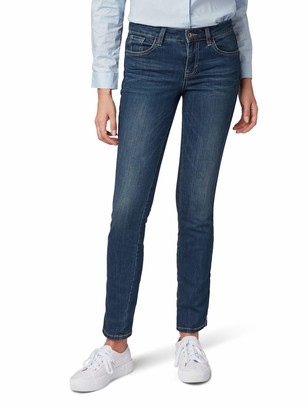 Tom Tailor Casual Women's Gewaschene Jeans Im Slim Fit Alexa