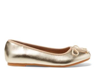 Ralph Lauren Nellie Metallic Ballet Flat