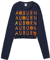 PINK Auburn University Long Sleeve Campus Cutout Tee