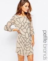 Maya Petite Embellished Shift Dress