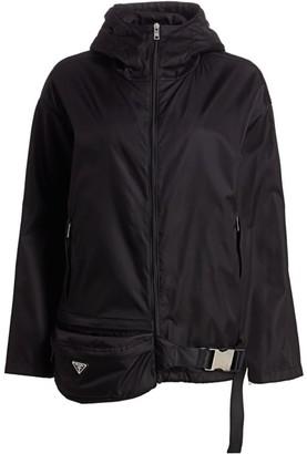 Prada Nylon Anorak Jacket