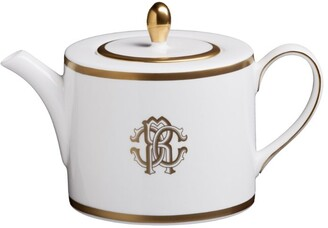 Roberto Cavalli Home Silk Gold Teapot