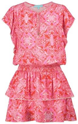 Melissa Odabash Keri printed minidress