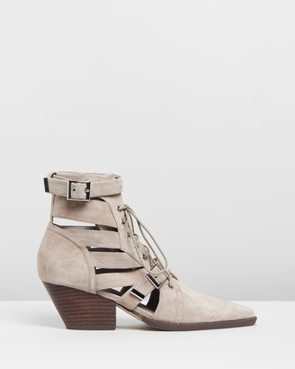 Mollini Fayt Suede Ankle Boots