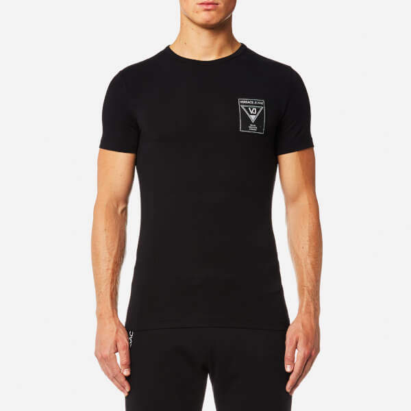 Versace Men's Small Chest Logo T-Shirt
