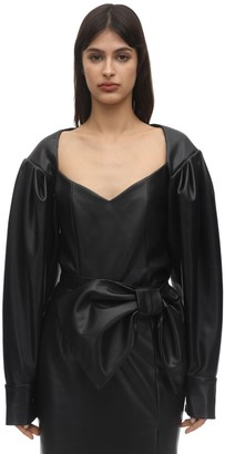 ANOUKI Faux Leather Shirt