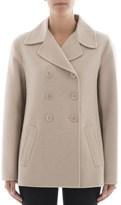 Bottega Veneta Women's Beige Cashmere Coat.