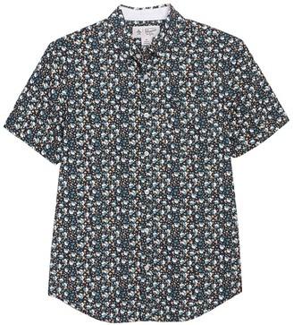 Original Penguin Ditsy Floral Print Short Sleeve Heritage Fit Shirt