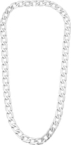 Vita Fede Milos Mini Silver Chain Link Necklace
