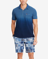 Polo Ralph Lauren Men's Big & Tall Classic-Fit Ombre Mesh Polo Shirt