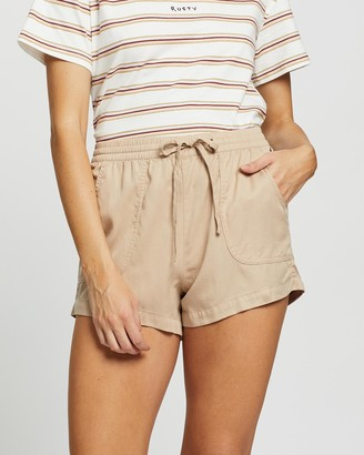 Rusty Women's Nude Shorts - Bounds Walkshorts - Size One Size, 10 at The Iconic