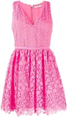 Alice + Olivia Alice+Olivia crochet sleeveless dress