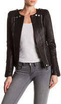BCBGMAXAZRIA Blake Genuine Leather Jacket