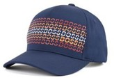 HUGO BOSS - Technical Twill Cap With Rubberized Print - Dark Blue
