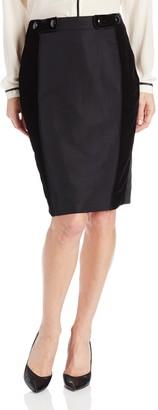 Magaschoni Women's Taffeta Skirt